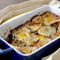 Meat and Potato Gratin | www.diethood.com