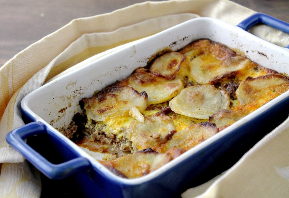 Meat And Potato Gratin