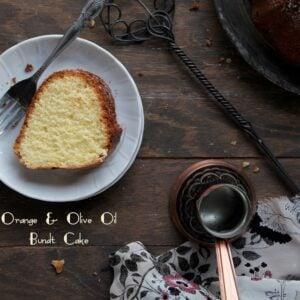 Orange and Olive Oil Bundt Cake #BundtAMonth