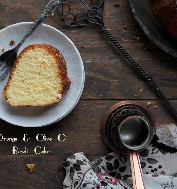 Orange and Olive Oil Cake | www.diethood.com | #bundtamonth #bundtcake #dessert #cake #recipe @diethood