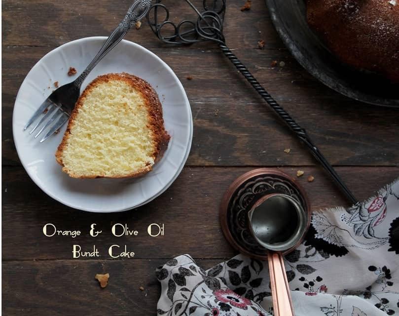 Orange and Olive Oil Cake | www.diethood.com | #bundtamonth #bundtcake #dessert #cake #recipe @diethood
