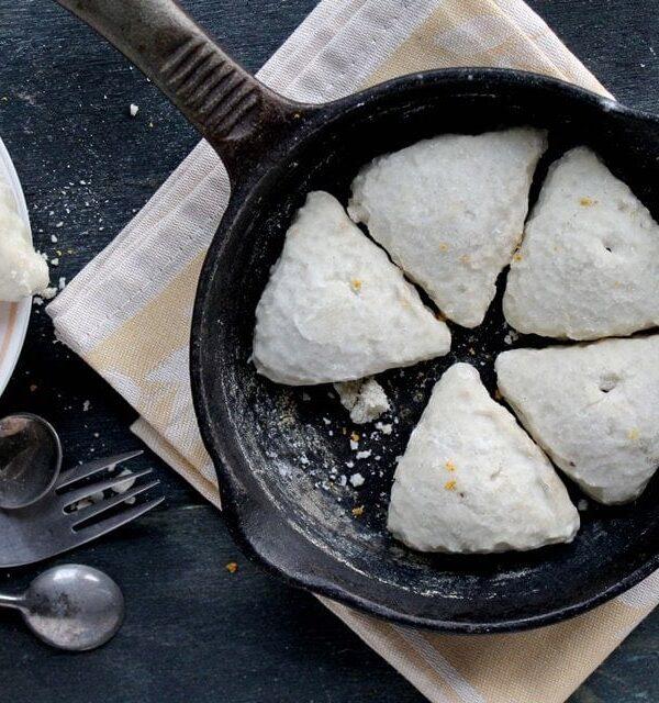 Vanilla and Orange Scones | www.diethood.com | #sconesrecipe #breakfast #scones #recipe @diethood