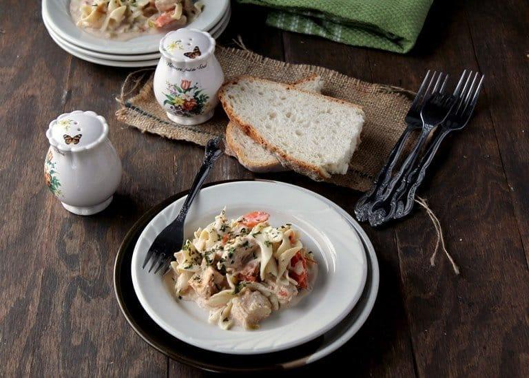slow cooker creamy chickenwp Savory Sundays: Slow Cooker Creamy Chicken Pasta