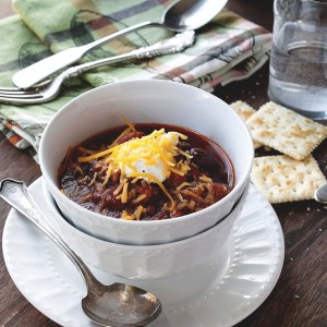 Savory Sundays: Slow Cooker Chili