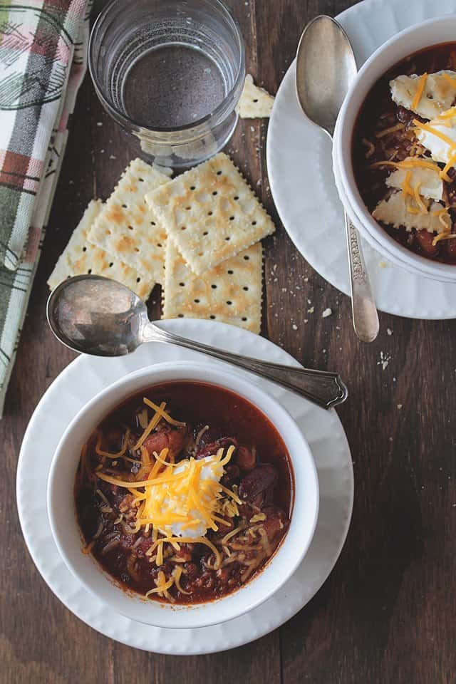 chili 6wp Savory Sundays: Slow Cooker Chili