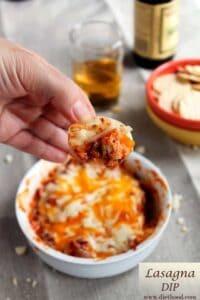 Lasagna Dip Recipe