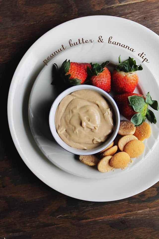 Peanut Butter Banana Dip Recipe | Easy Dessert Dip for Parties