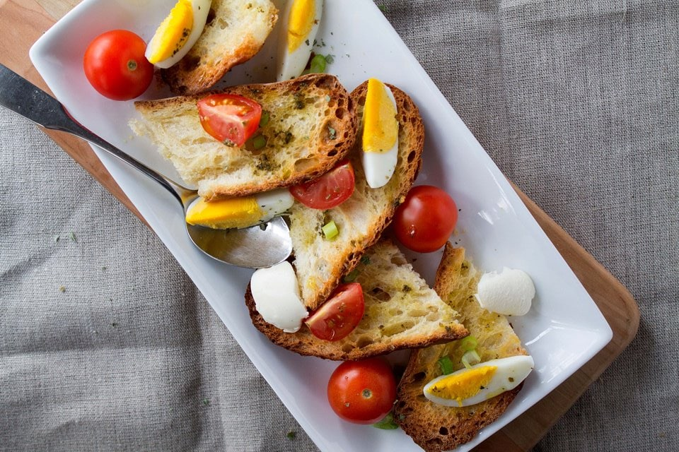 Rustic Egg Salad | Diethood