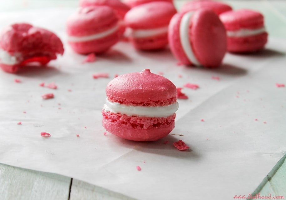 macarons feature wp French Macarons with Marshmallow Frosting