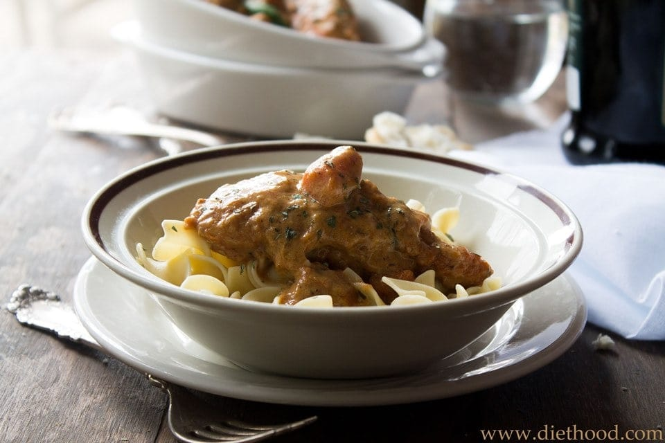 Chicken Paprikash | Diethood