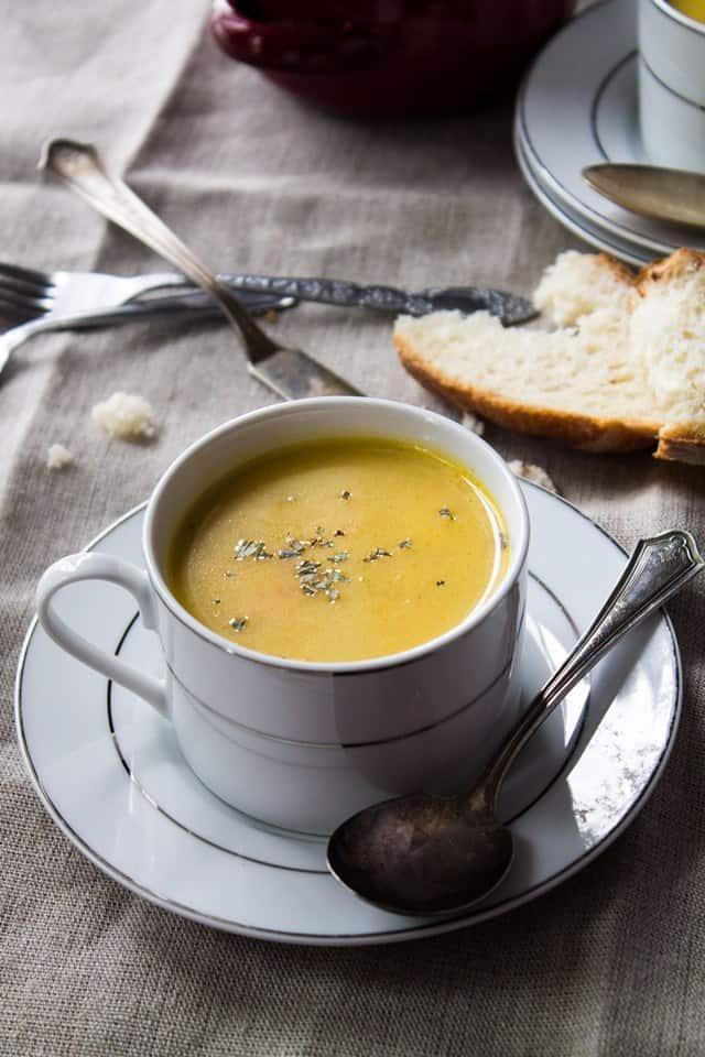 parsnip soup wp Parsnip and Potato Soup