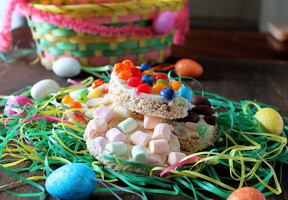 Easter Rice Crispy Treats | Diethood