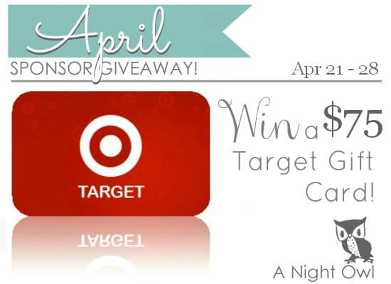 ANO April Sponsor Givewaway 60 to Target Strawberries and Cream Ice Cream Cake + Giveaway