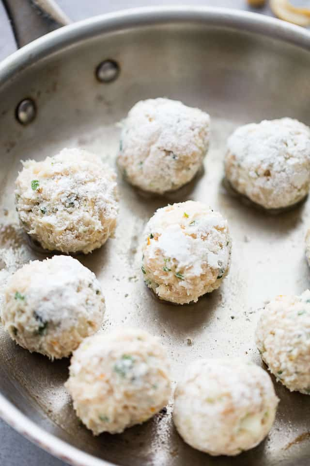 Cashew Chicken Meatballs Recipe