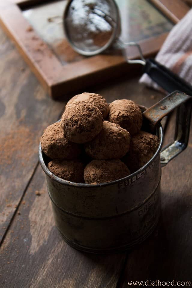 banana chocolate wp Mascarpone White Chocolate Truffles