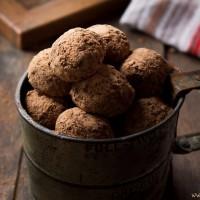 Banana, Orange and Chocolate Truffles | www.diethood.com | #chocolate #recipe #cookies #dessert