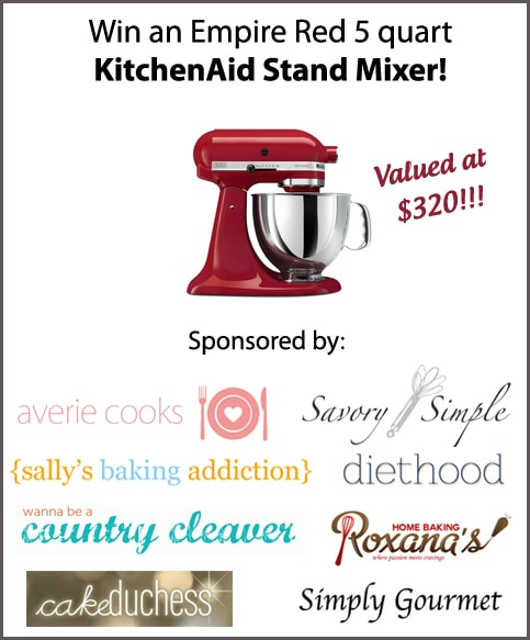 KitchenAid Artisan 5-Quart Stand Mixer in Empire Red