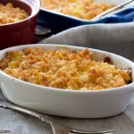 Oven Baked Macaroni and Feta Cheese
