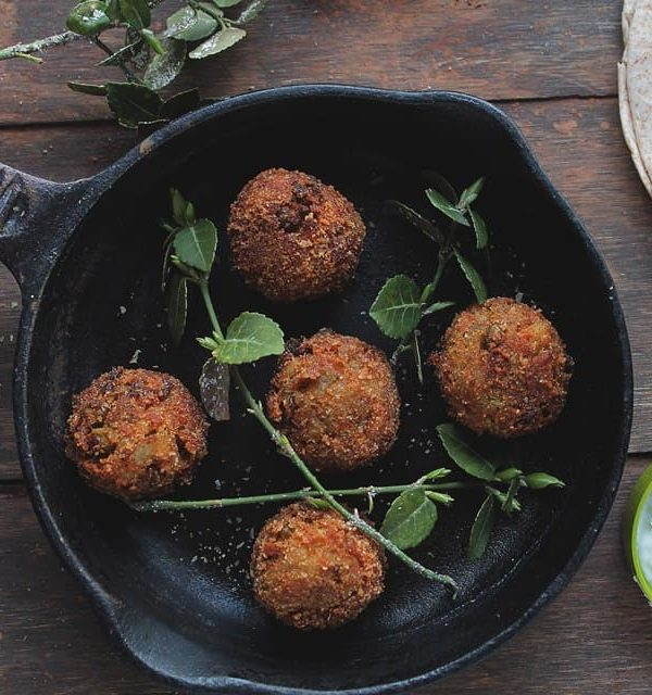 """Veggie Meatballs 