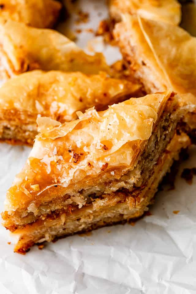 Next Level Coconut Baklava Recipe The Best Baklava