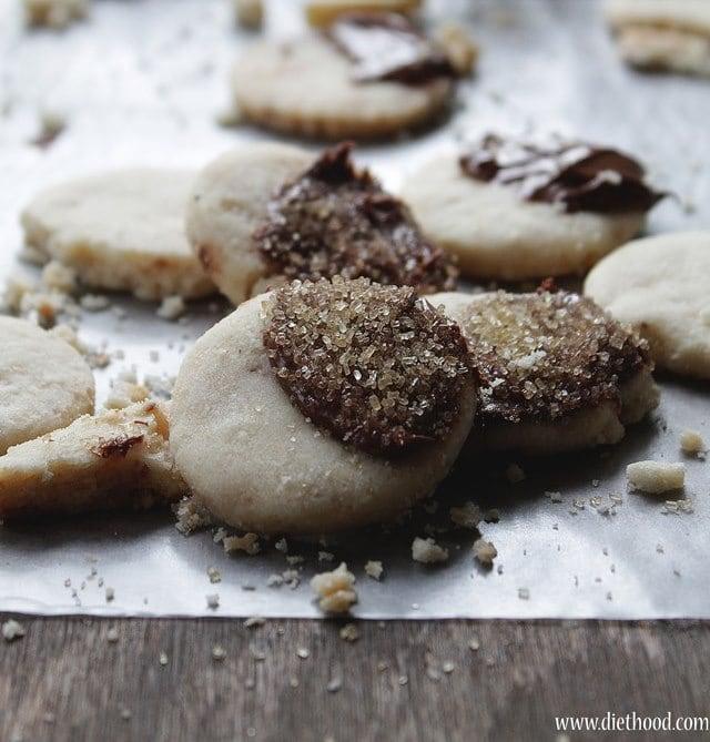 Shortbread Cookies wp1 Hazelnut Shortbread Cookies