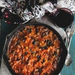 Skillet Vegetable Lasagna