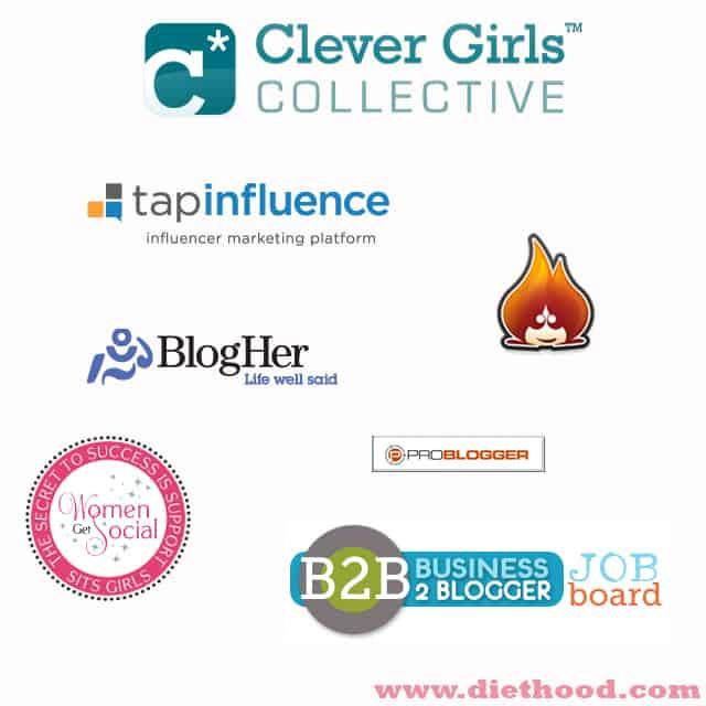 Blog Networks | www.diethood.com