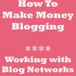How To Make Money Blogging: Working With Blog Networks | www.diethood.com | #blogging