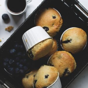 Blueberry Lemon Muffins | www.diethood.com | #recipe #muffins #breakfast