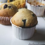 Blueberry Lemon Muffins | www.diethood.com | #recipe #muffins #breakfast