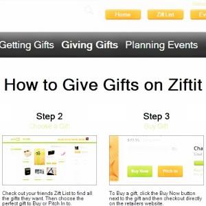 Ziftit: Making Gifting Easy