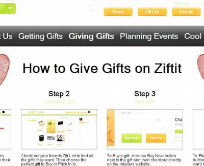Ziftit Gift Giving | www.diethood.com