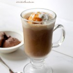 Chocolate and Vanilla Eiskaffee
