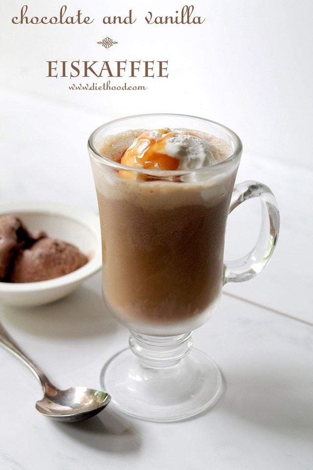 Chocolate and Vanilla Eiskaffee Diethood Authentic Irish Coffee