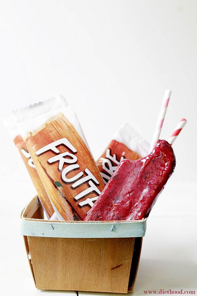 Fruttare Frozen Fruit Bars | www.diethood.com | #sponsored #fruttare