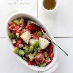 Garden Vegetable Potato Salad