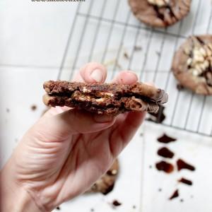 S'mores Brownie Cookies + Netflix