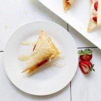 Strawberry Napoleon Baklava | www.diethood.com | #baklava #recipe #thechew