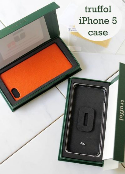 Truffol iPhone 5 Case | www.diethood.com | #truffol #iphonecase