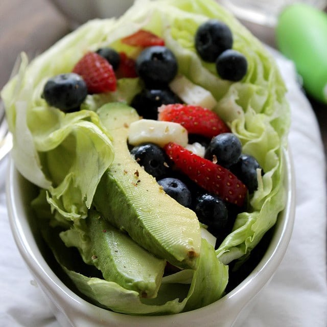 Berry Avocado Diethood Recipe Very Berry Avocado Salad {Giveaway}