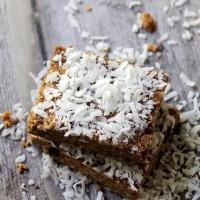 Biscoff Coconut Oat Bars | www.diethood.com | #nobake #recipe #cookies #bars