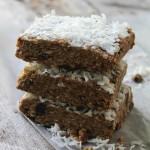 Biscoff Coconut Oat Bars Diethood Recipe