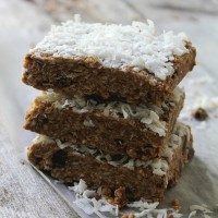 Biscoff Coconut Oat Bars Diethood Recipe