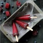 Blueberry Pomegranate Hibiscus Pops | www.diethood.com | #PerfectTemp #recipe