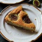 Fig and Lemon Cake | www.diethood.com | Sweet and delicious yogurt cake made with a zest of lemon and fresh figs. | #cake #recipe #dessert #figs
