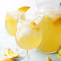 White Sangria Recipe | www.diethood.com | #sangria #recipe