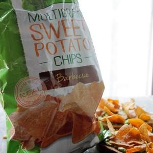 Thingamajig Tuesdays: Smashed Avocado Toast with Sweet Potato Chips #GiantFlavor