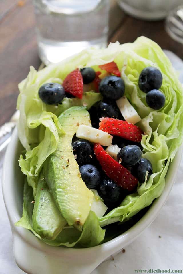 Very Berry Avocado Diethood Very Berry Avocado Salad {Giveaway}