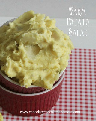 Warm Potato Salad from Chocolate Chocolate and More