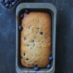 Banana Blueberries Bread | www.diethood.com | Blueberry Banana Bread is the perfect breakfast snack to serve with your morning coffee or tea. | #recipe #bananabread